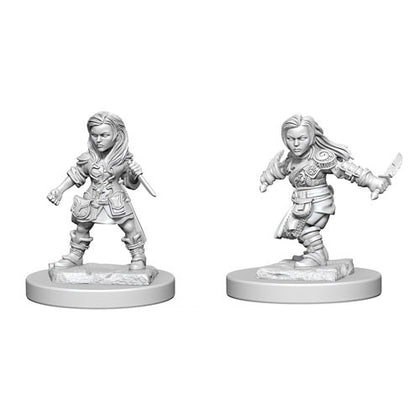 D&D Nolzurs Marvelous Unpainted Halfling Female Rogue