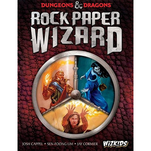 D&D Rock Paper Wizard Game