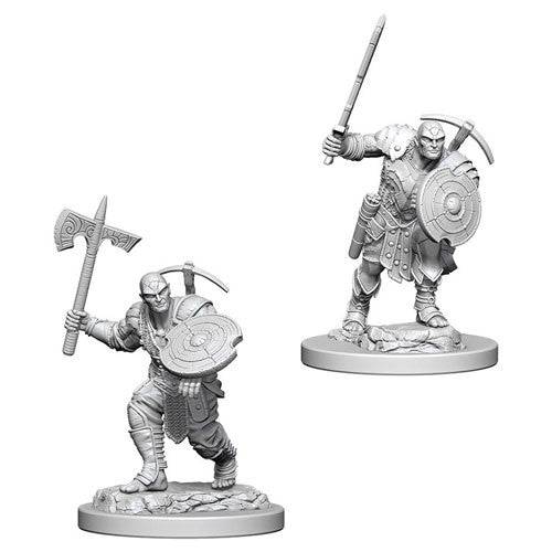 D&D Nolzurs Marvelous Unpainted Minis Earth Genasi MFighter
