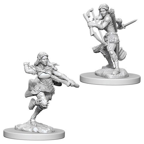 D&D Nolzurs Marvelous Unpainted Minis Air Genasi Female Rge