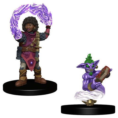 Wardlings Girl Wizard and Genie Pre-Painted Minis