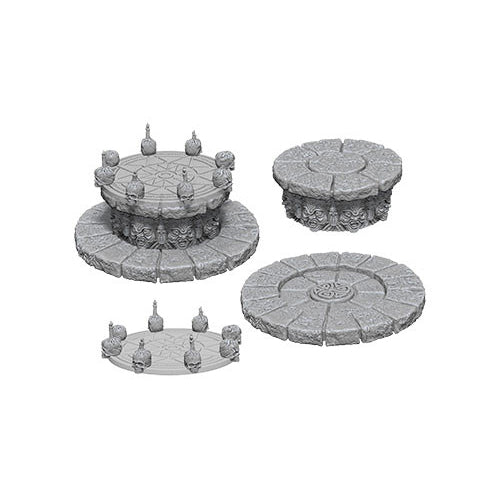 Wizkids Deep Cuts Unpainted Miniatures Magic Dias