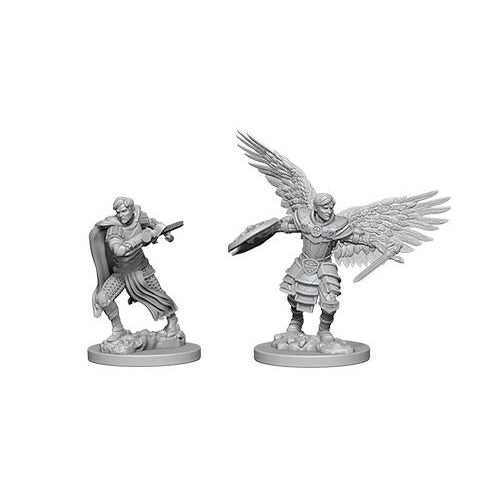 D&D Nolzurs Marvelous Unpainted Minis Aasimar Male Fighter