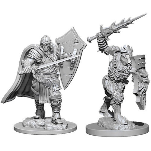 D&D Nolzurs Marvelous Unpainted Minis Death Knight and Helmed Horror