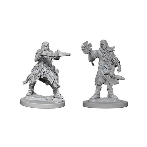 Pathfinder Deep Cuts Unpainted Miniatures Human Male Wizard