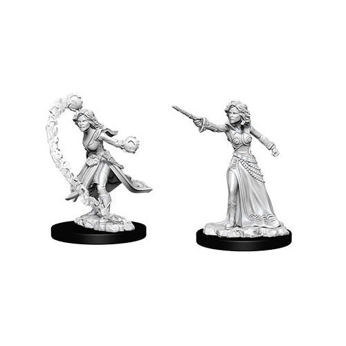 Pathfinder Deep Cuts Unpainted Miniatures Human Female Wizard