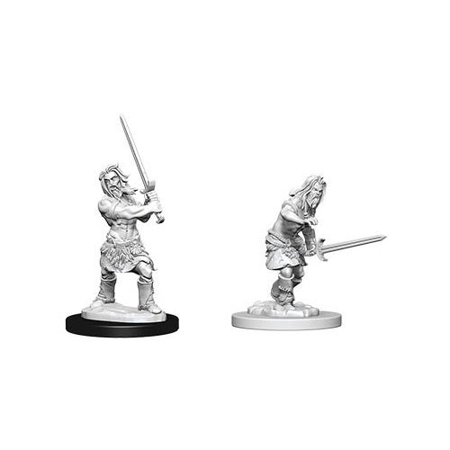 Pathfinder Deep Cuts Unpainted Miniatures Human Male Barbarian
