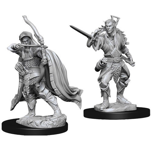 D&D Nolzurs Marvelous Unpainted Minis Male Elf Rogue