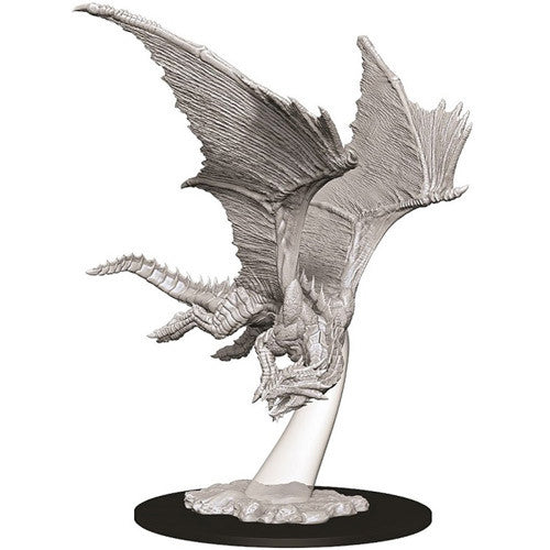 D&D Nolzurs Marvelous Unpainted Young Bronze Dragon