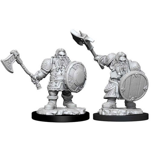D&D Nolzurs Marvelous Unpainted Miniatures Male Dwarf Fighter