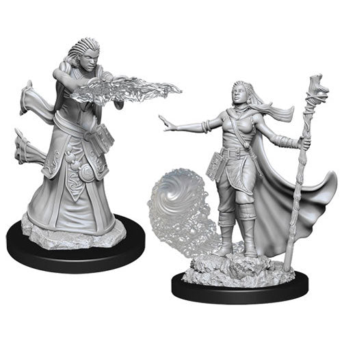 D&D Nolzurs Marvelous Unpainted Miniatures Female Human Wizard