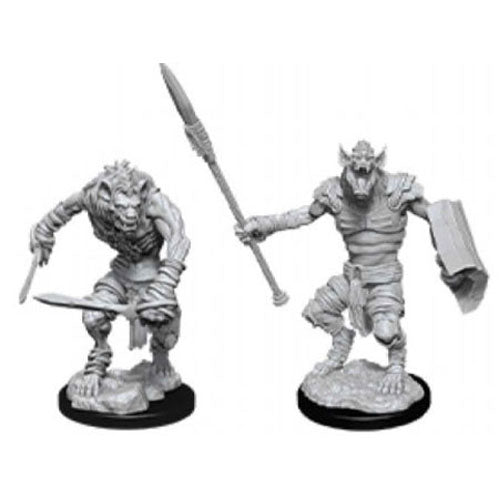 D&D Nolzurs Marvelous Unpainted Gnoll & Gnoll Flesh Gnawer