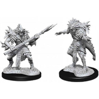 D&D Nolzurs Marvelous Unpainted Sahuagin
