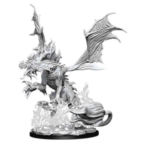 Pathfinder Deep Cuts Unpainted Miniatures Nightmare Dragon