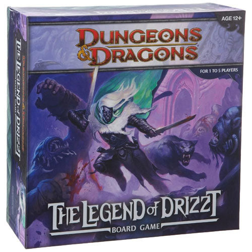 Dungeons and Dragons Legend of Drizzt Board Game