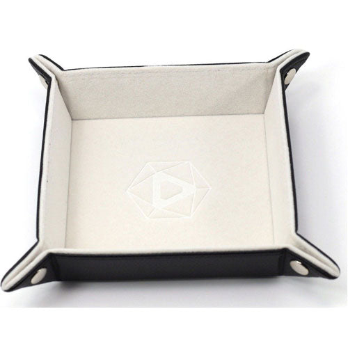 Die Hard Dice Folding Square Tray Cream Velvet