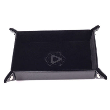 Die Hard Dice Folding Rectangle Tray Black Velvet