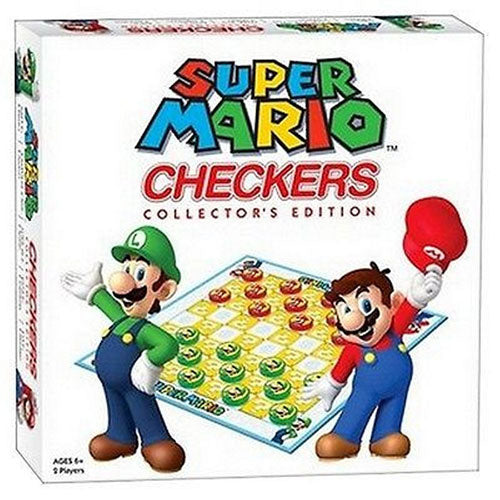 Nintendo Super Mario Checkers