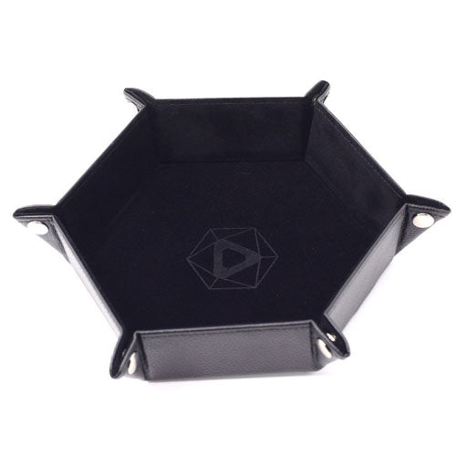 Die Hard Dice Folding Hex Tray Black Velvet