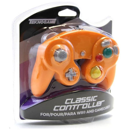Nintendo Gamecube Generic Controller Orange