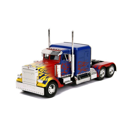 Transformers Optimus Prime T1 1:24 Scale Hollywood Rides Diecast Vehicle