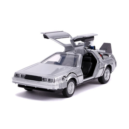 Back To The Future 2 Delorean 1:32 Scale Hollywood Rides Diecast Vehicle
