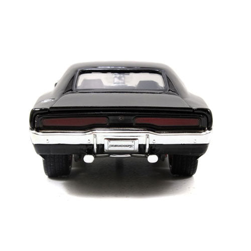 Fast & Furious 1970 Dodge Charger 1:24 Scale with Figure Hollywood Rides Diecast Vehicle