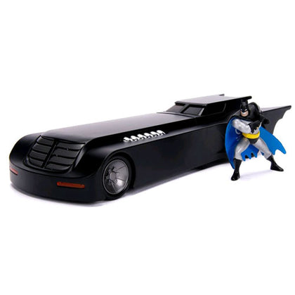 Batman The Animated Series Batmobile 1:24 Scale with Figure Diecast Vehicle