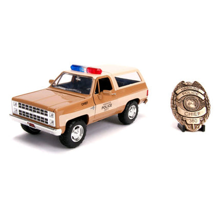 Stranger Things 1980 Chevy K5 Blazer 1:24 Scale Hollywood Rides Diecast Vehicle
