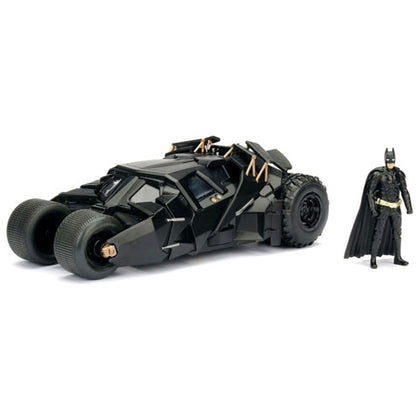Batman 2005 Batmobile Dark Knight 1:24 Scale with Figure Diecast Vehicle