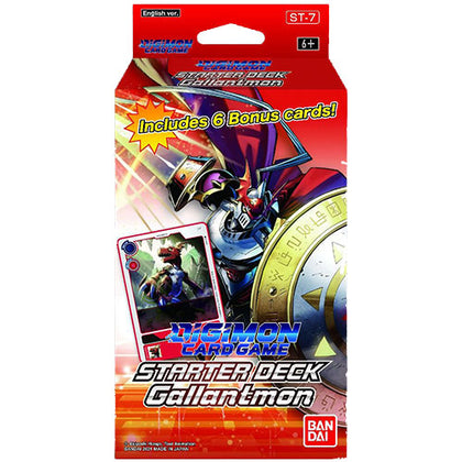 Digimon Card Game Starter Deck 07 Gallantmon
