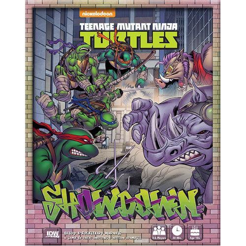 TMNT Bebop and Rocksteady Board Game