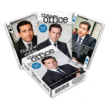 Playing Cards The Office Michael Quotes