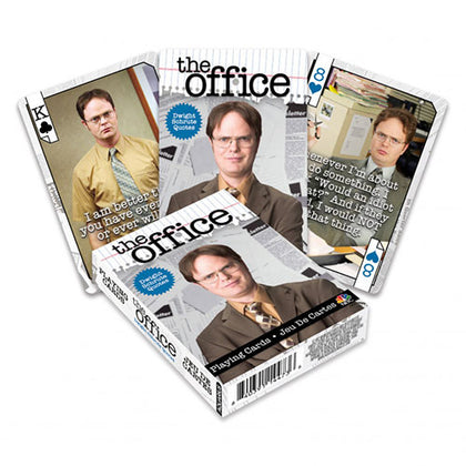Playing Cards The Office Dwight Quotes
