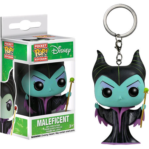 Sleeping Beauty Maleficient Pop! Vinyl Key Chain