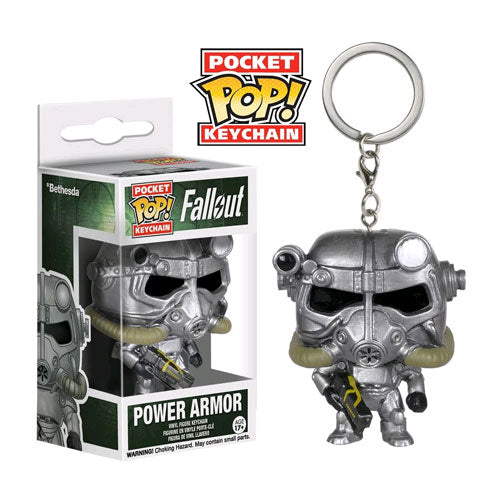 Fallout Power Armour Pop! Vinyl Key Chain