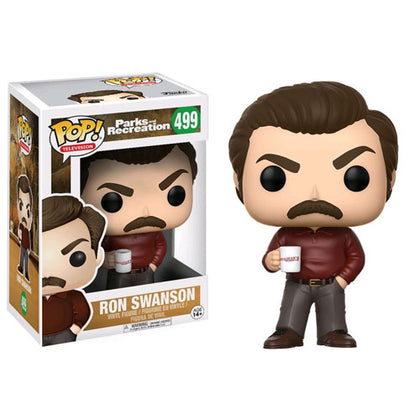 Parks and Recreation Ron Swanson Pop! Vinyl