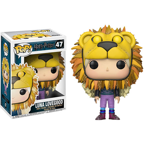 Harry Potter Luna with Lion Head Pop! Vinyl
