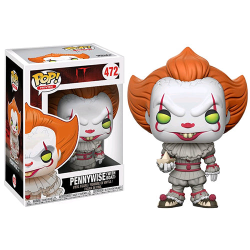 IT 2017 Pennywise with Boat Pop! Vinyl