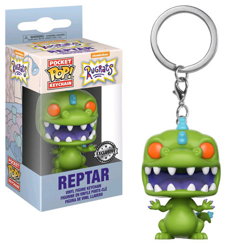 Rugrats Reptar Pop! Vinyl Key Chain