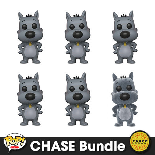 Doug Porkchop Pop! Vinyl CHASE Bundle
