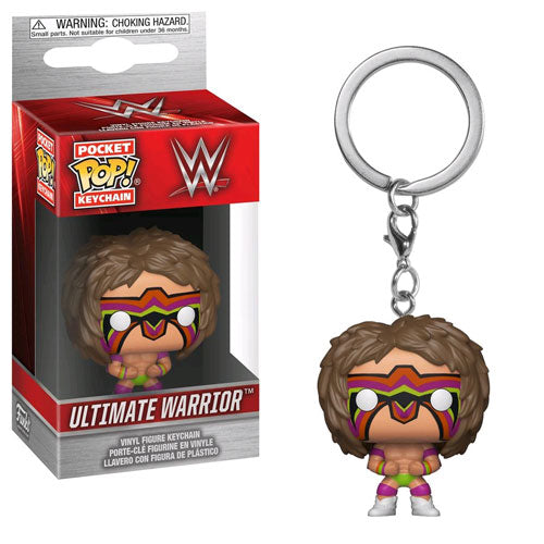 WWE Ultimate Warrior Pop! Vinyl Key Chain