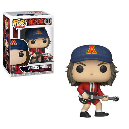 AC DC Angus Young Red Jacket US Exclusive Pop!