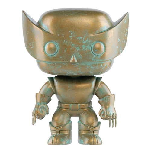 X-Men Wolverine Marvel 80th Anniversary Patina US Exclusive Pop! Vinyl