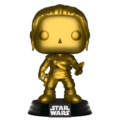 Star Wars Rey Gold Metallic US Exclusive Pop! Vinyl