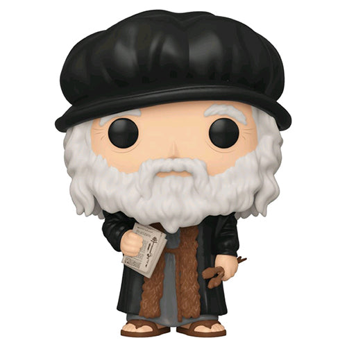 Artists Leonardo DaVinci Pop! Vinyl