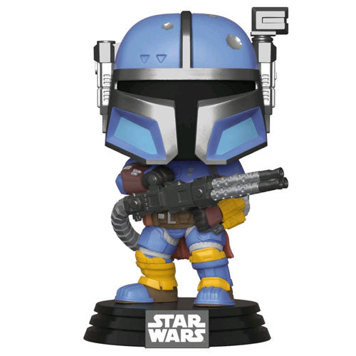 Star Wars The Mandalorian Heavy Infantry Metallic US Exclusive Pop! Vinyl