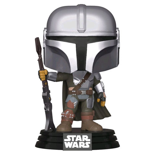 Star Wars The Mandalorian Mandalorian Pose Metallic Pop! Vinyl