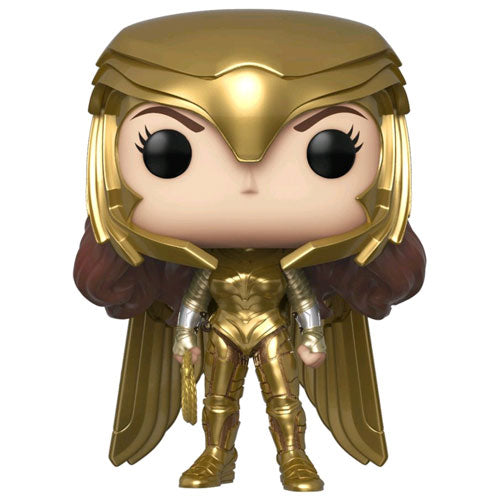 Wonder Woman 2 WW Gold Power Pose Pop! Vinyl