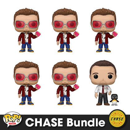 Fight Club Tyler Durden Pop! Vinyl CHASE Bundle
